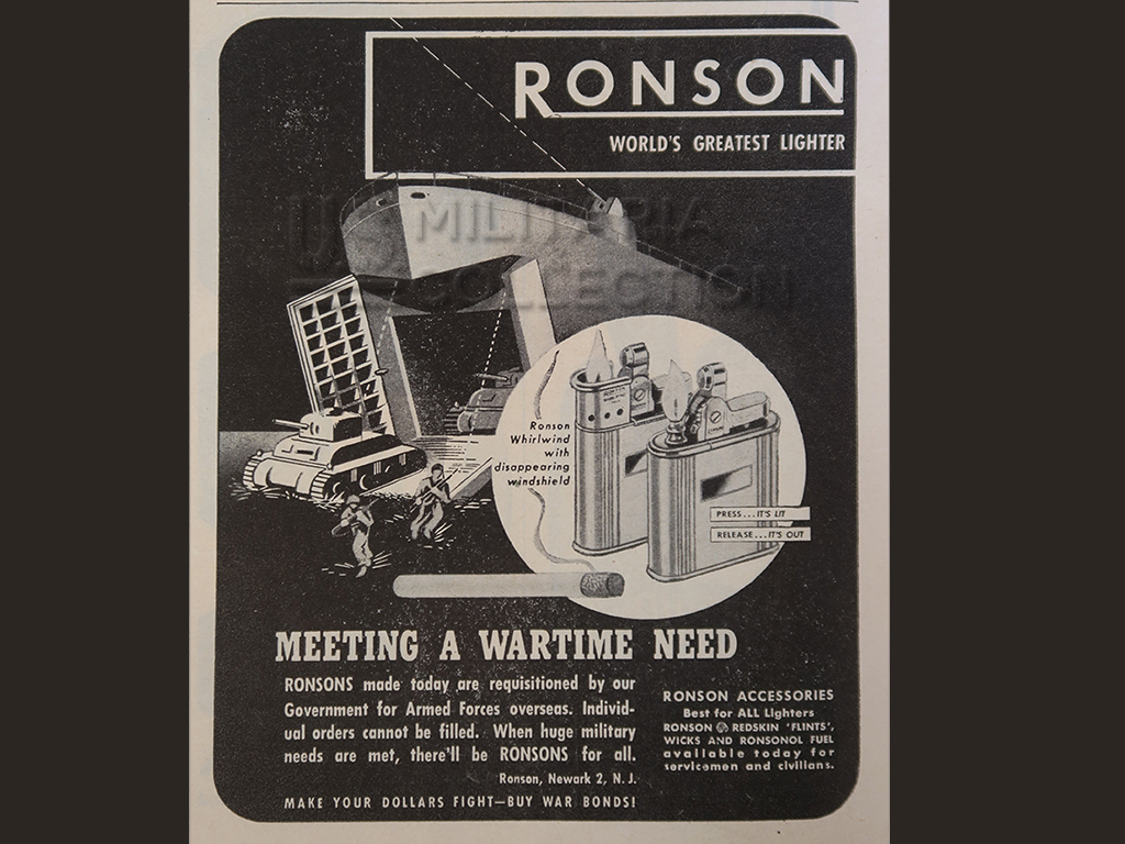 WHIRLWIND RONSON PUBLICITE