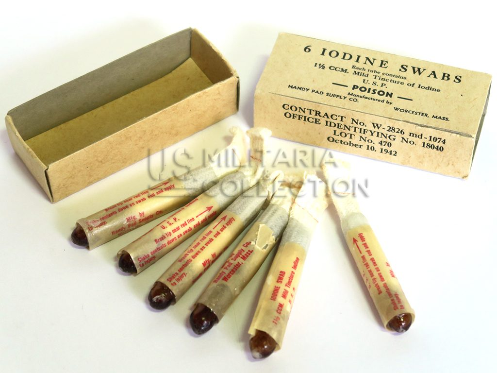 Medical US Iodine Swabs