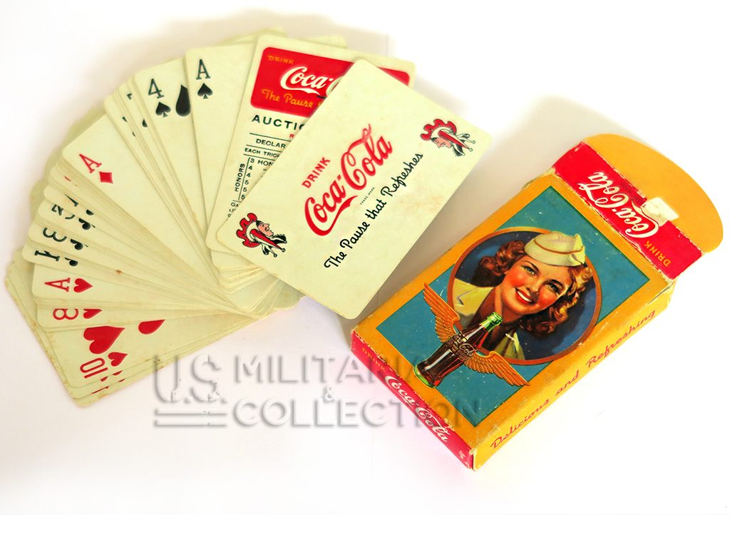 Jeu de cartes us Coca-Cola