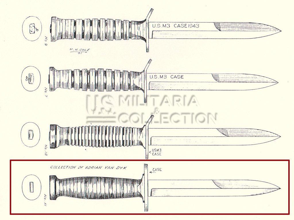 COUTEAU USM3 CASE + USM8-A1