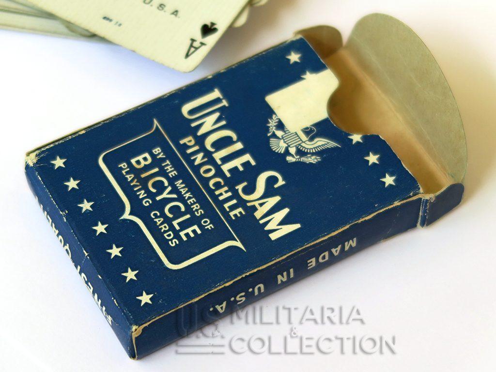Jeu de cartes us ww2 Uncle Sam 1943