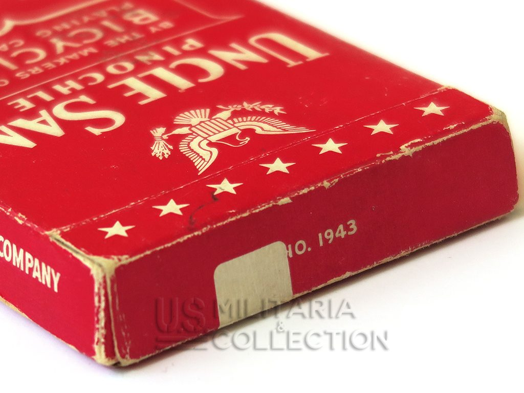 Jeu de cartes us ww2 Uncle Sam 1943