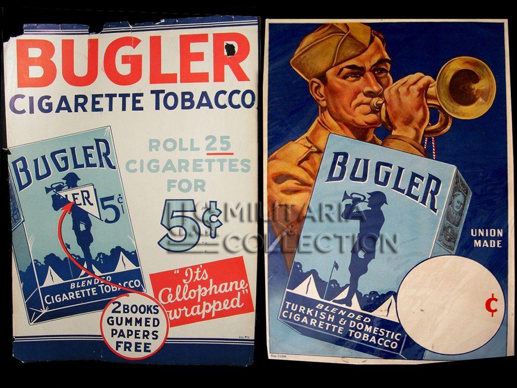 Tabac US WW2 bugler affiches