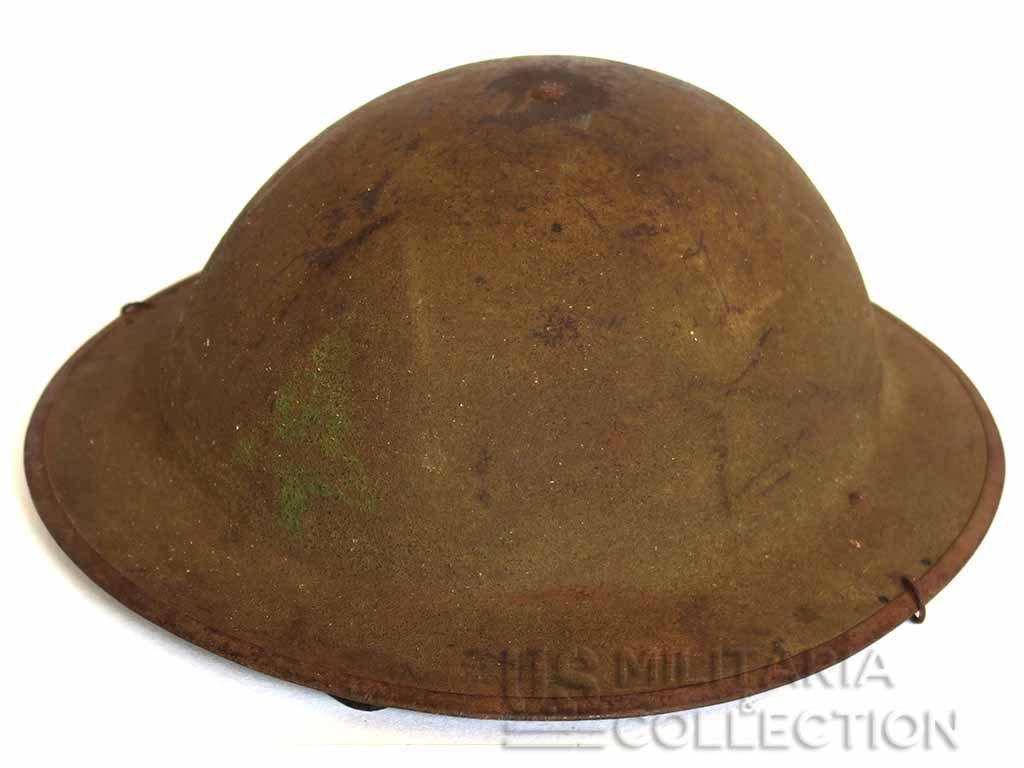 CASQUE M-1917 91th Division Infanterie US