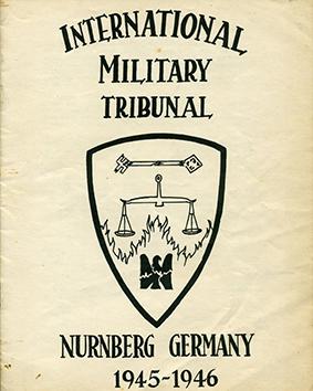 Nuremberg procès insigne us 2 - Nuremberg Insigne du Procès Originale US