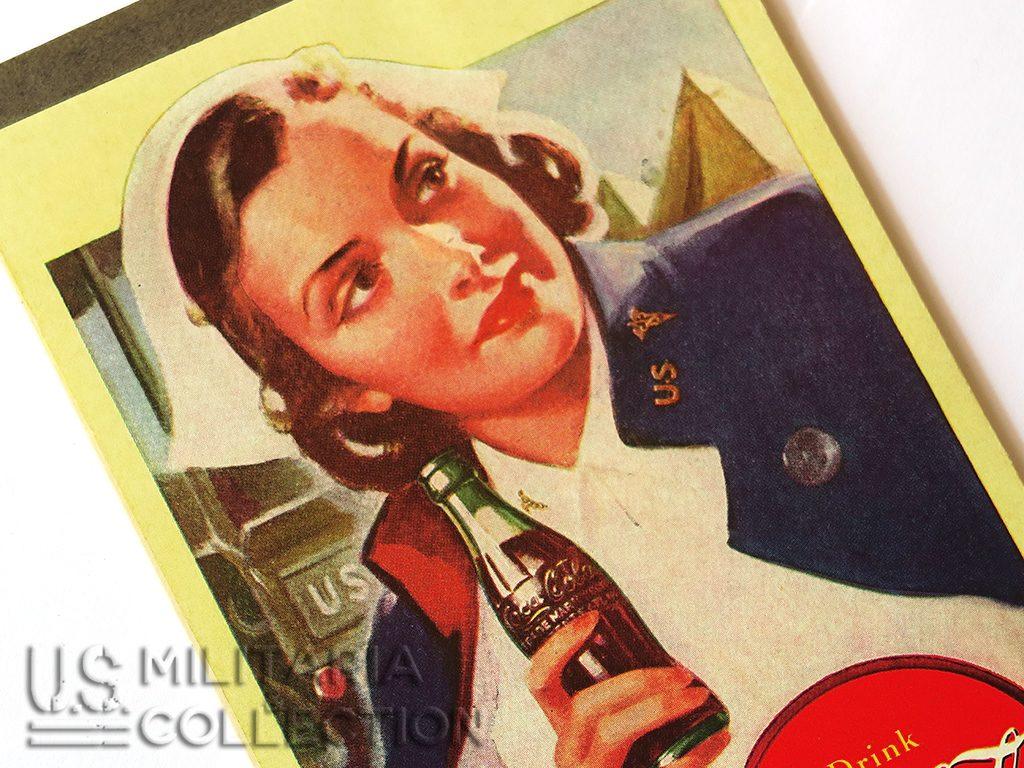 CARNET DE SCORE COCA-COLA U.S. ARMY NURSE