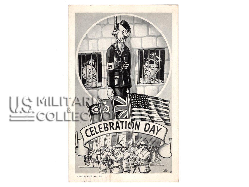 Carte postale de propagande US 1943