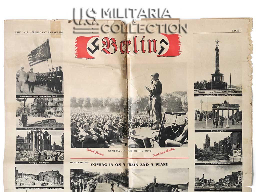 82nd Airborne Berlin édition journal