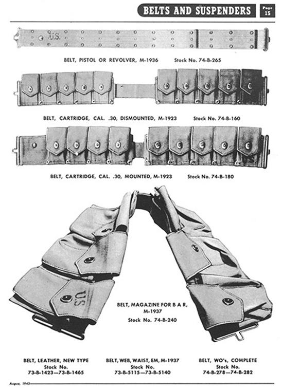 ceinturon cartouchiere m 1923