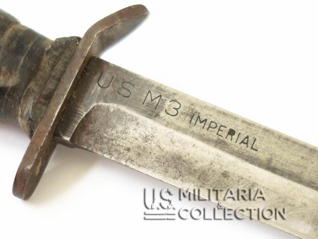 Couteau USM3 IMPERIAL et étui M8 1er modèle