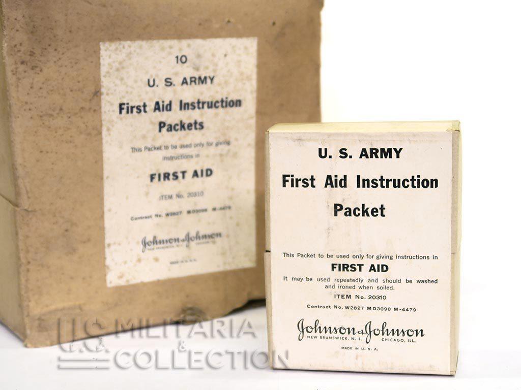First-Aid US instruction des soldats
