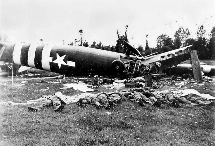 HACHE de SECOURS C-47 WACO HORSA