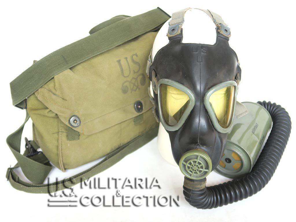 Masque à Gaz US M3 et musette M6