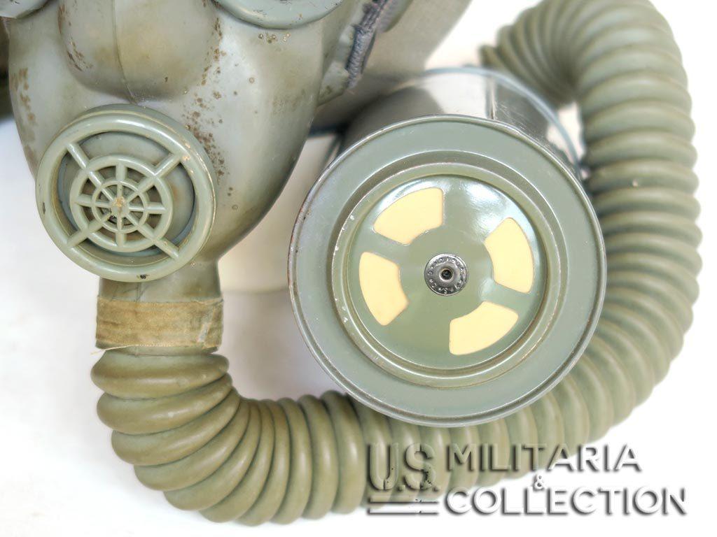 Masque à Gaz US M4 et musette M6