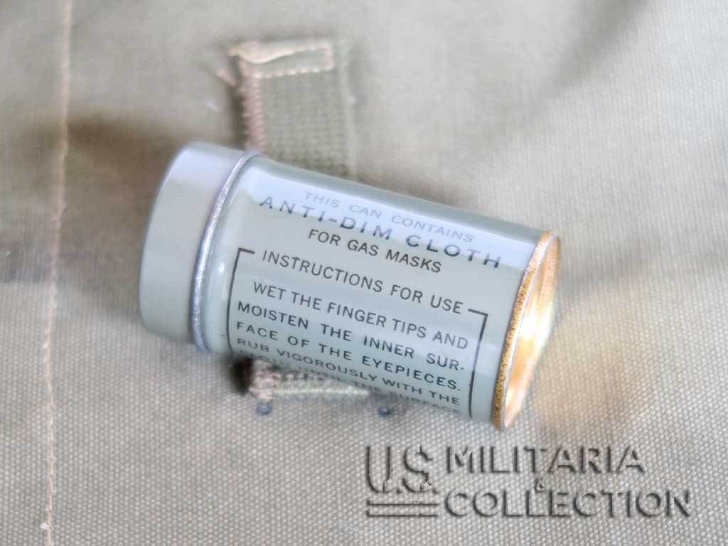 Masque à Gaz US M4 et sa musette M6