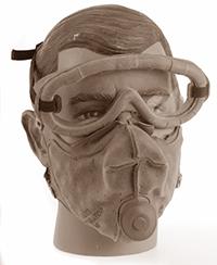 masque anti poussière m1 troupes blindées US - Masque anti-poussière M1 Troupes Blindées US