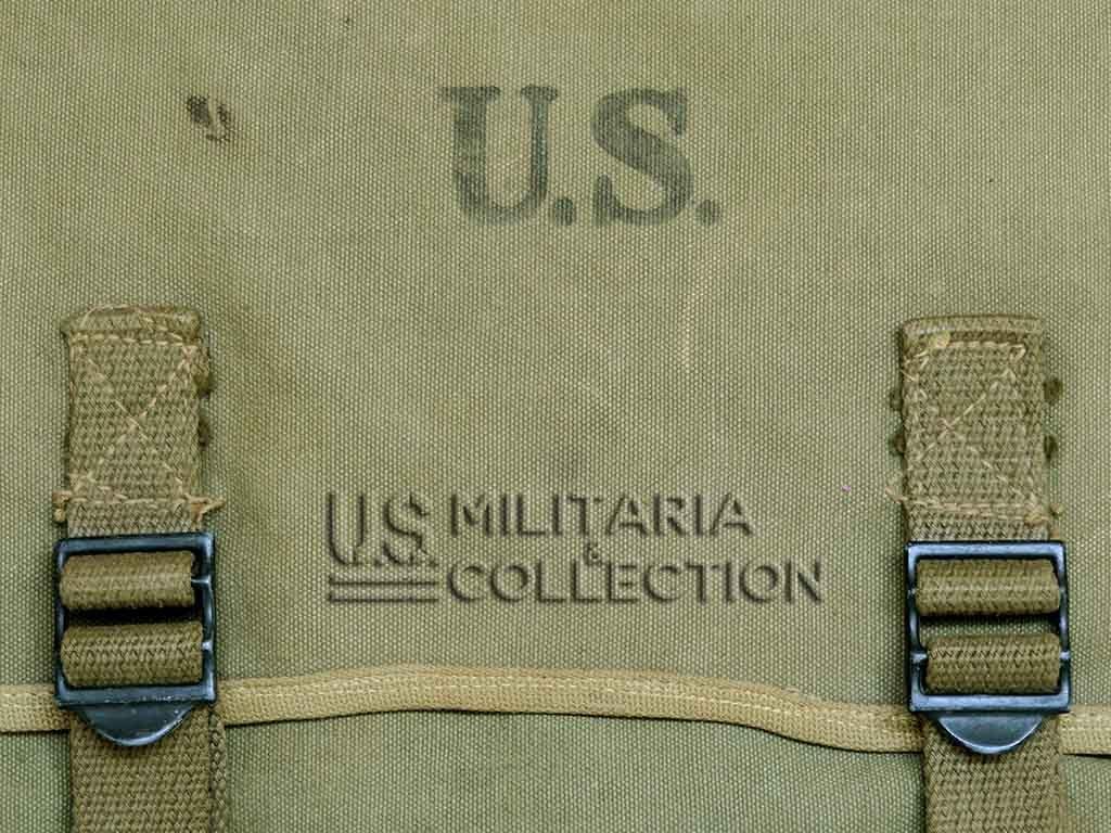 Musette US Modèle 1936 toile 2 teintes 1944-1945