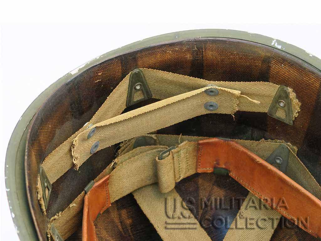 Casque M1 Pattes Fixes Complet 1942
