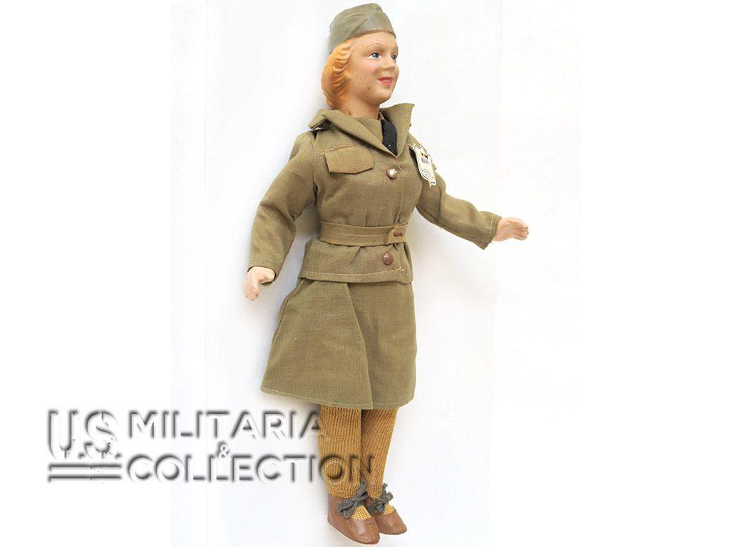 Poupée personnel féminin US army WAC
