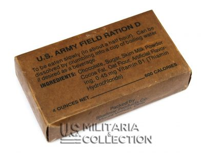 RATION D, RATION US Field RATION D
