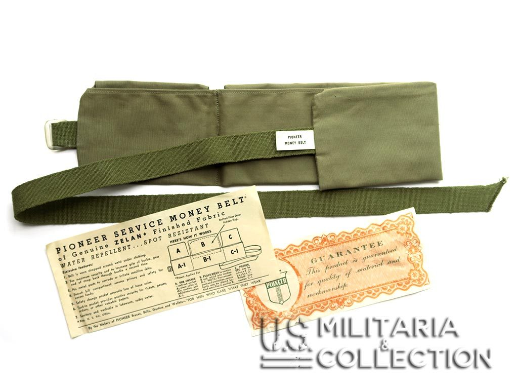 Ceinture US Service Money Belt Pioneer
