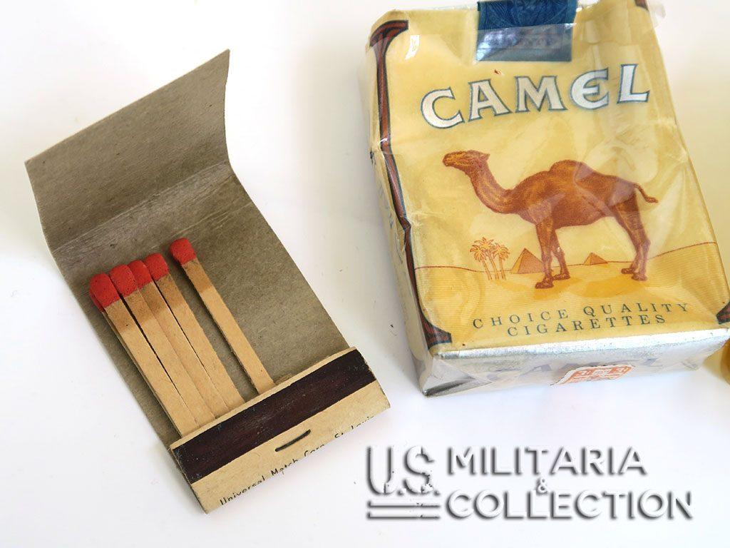 Étui étanche pour cigarettes US WW2