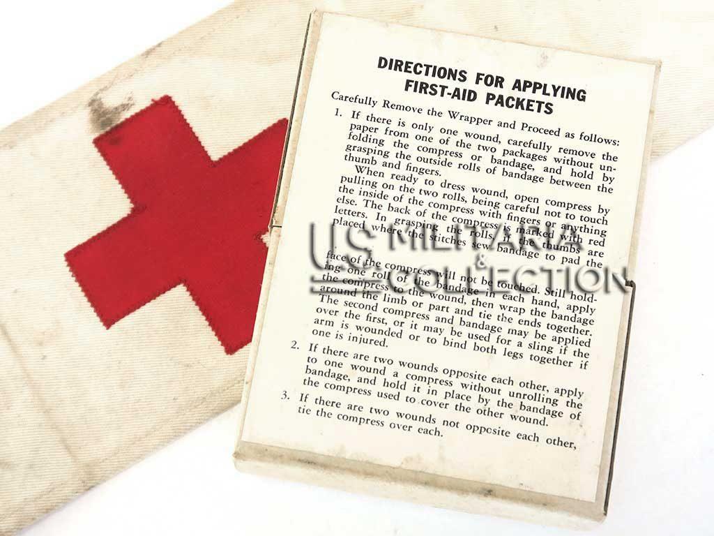 First-Aid instruction avant jour J, US Army