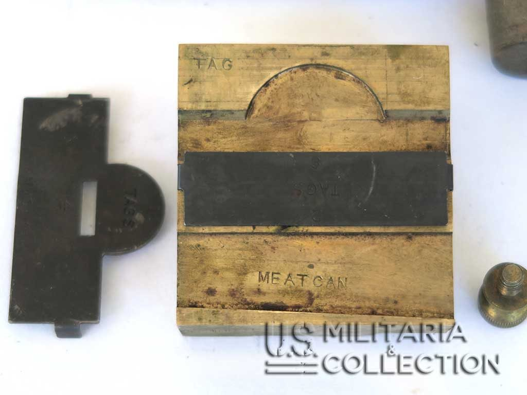 Kit de marquage Dog tags US ARMY