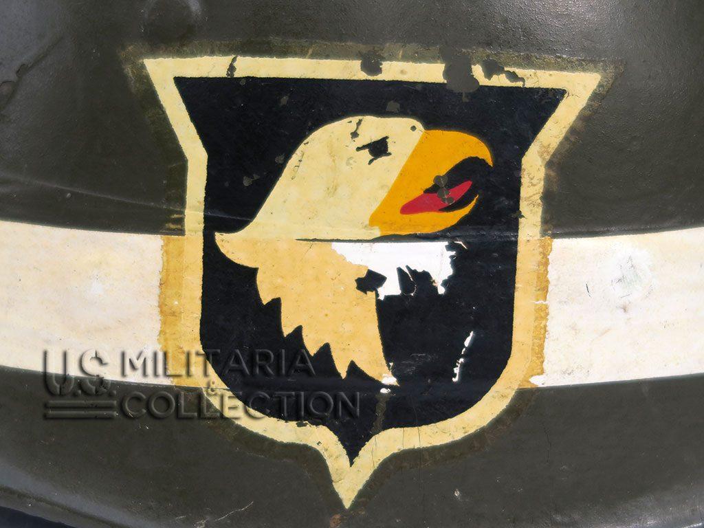 liner sous casque caporal 101e airborne 2a 1024x768 - Liner sous-casque Caporal de la 101e AIRBORNE [VENDU]