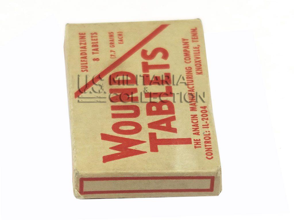 Boite de Sulfadiazine Tablets (Wound Tablets)
