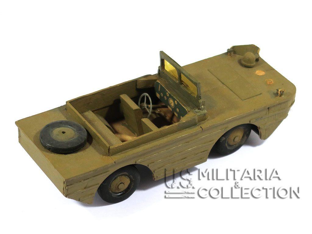 """Jouet US Seconde Guerre, véhicule amphibie DUKW 353 """"DUCK"""""""