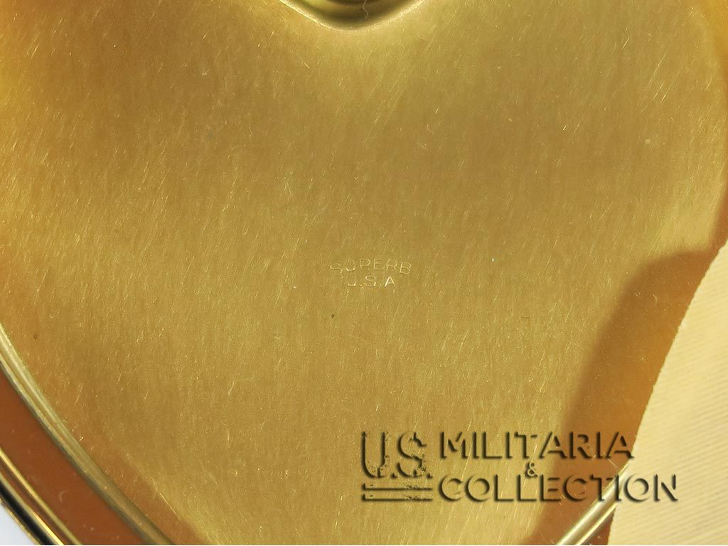Poudrier féminin U.S. NAVY
