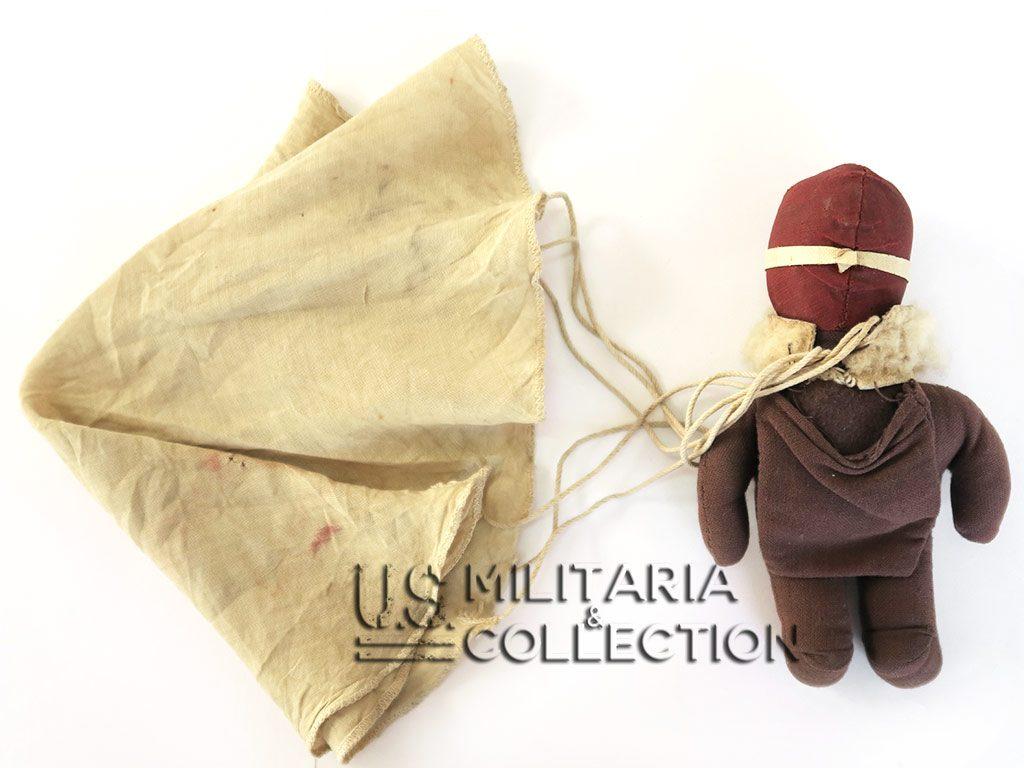 """Poupée de parachutiste américain """"Raggy Doodle"""" 1942/1945."""