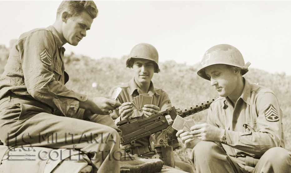 Jeu de cartes US COCA-COLA Seconde Guerre