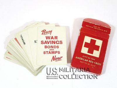 jeu de cartes croix rouge us 1 400x300 - Jeu de cartes Croix Rouge US pour prisonniers.