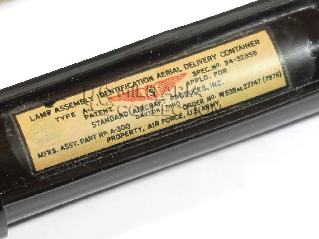 Lampe type a-1 container de largage et sa boite