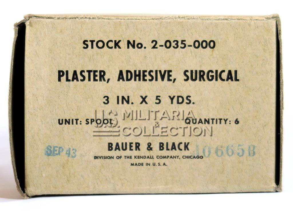 Rouleau sparadrap médical US Army Bauer & Black