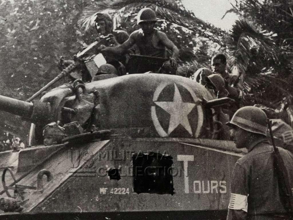 1ère Division Blindée débarquement Provence