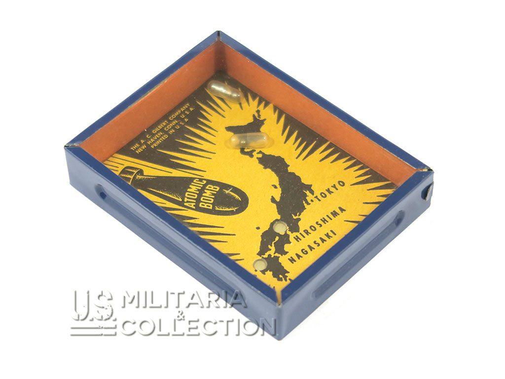 Jeu US Atomic Bomb, A. C. Gilbert Company