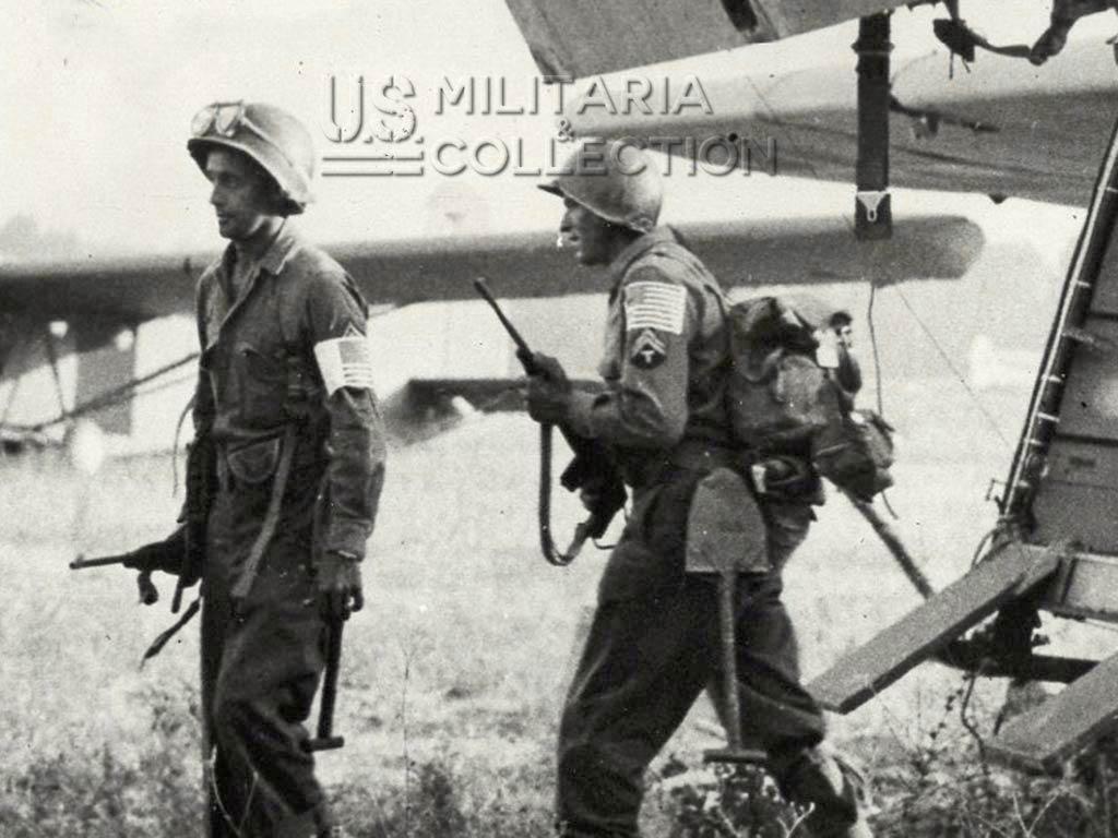 Parachutistes US débarquement de Provence