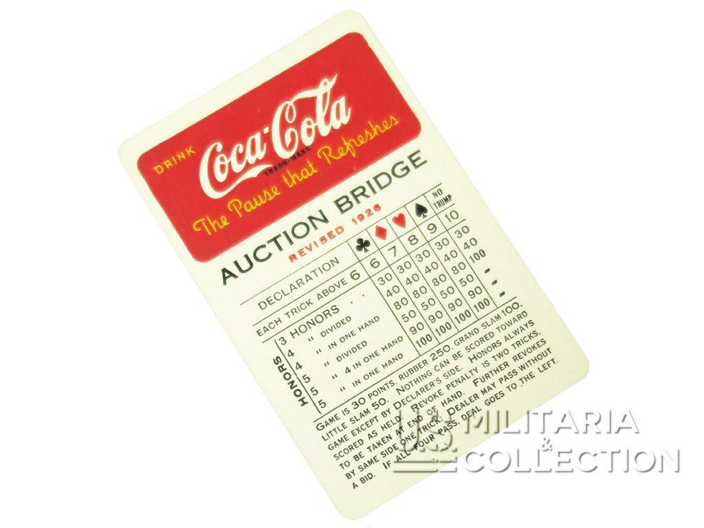 Jeu de cartes US COCA-COLA 1943