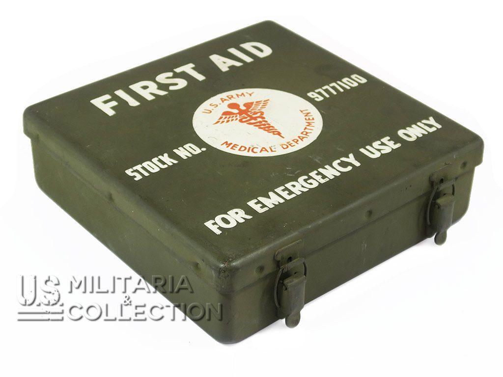 Boite premiers secours (First-Aid Kit), 24 unit véhicule US et char,...