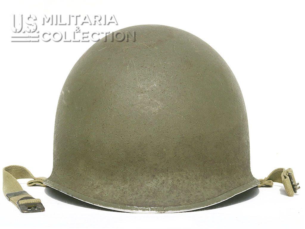 Casque M1 pattes Fixes, McCord 1942. Toutes premières fabrications.