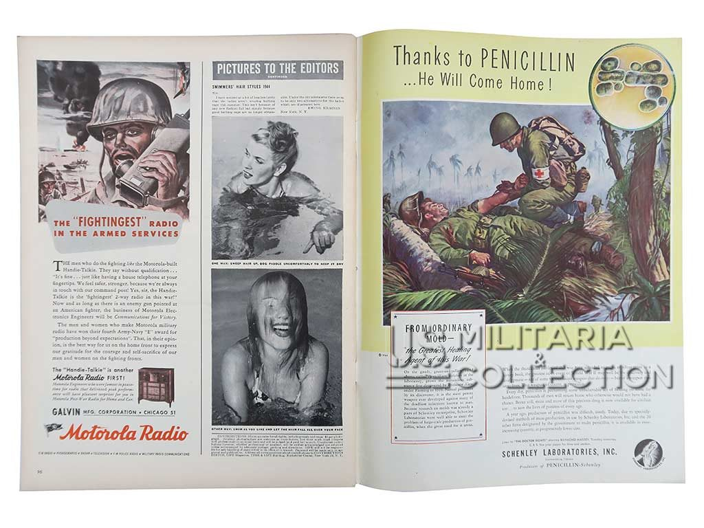 Magazine Life 14 août 1944 Normandie