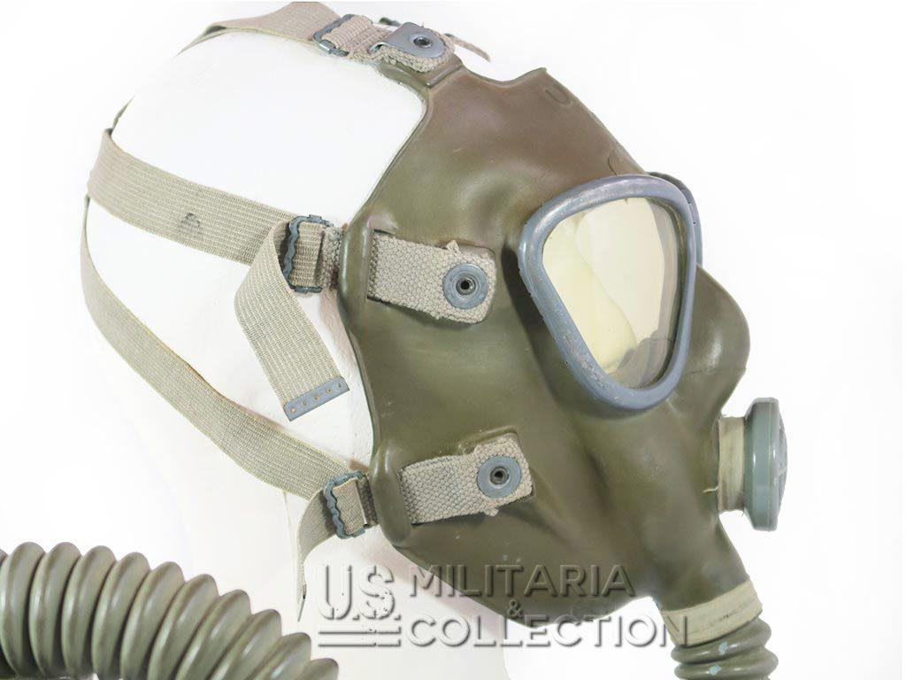 Masque à gaz US M2 A2 et son sac de transport