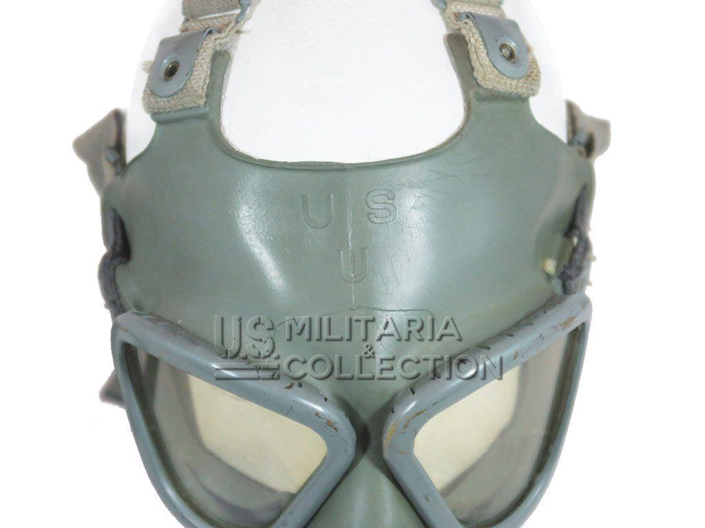 Masque à gaz US M2-A2 et son sac de transport