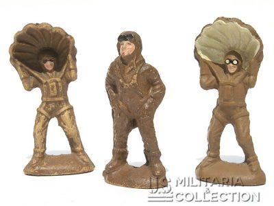 jouets US WWII en bois compressé.