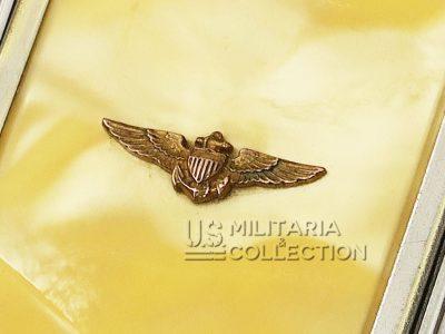 Poudrier Féminin US Naval Aviation et sa boite