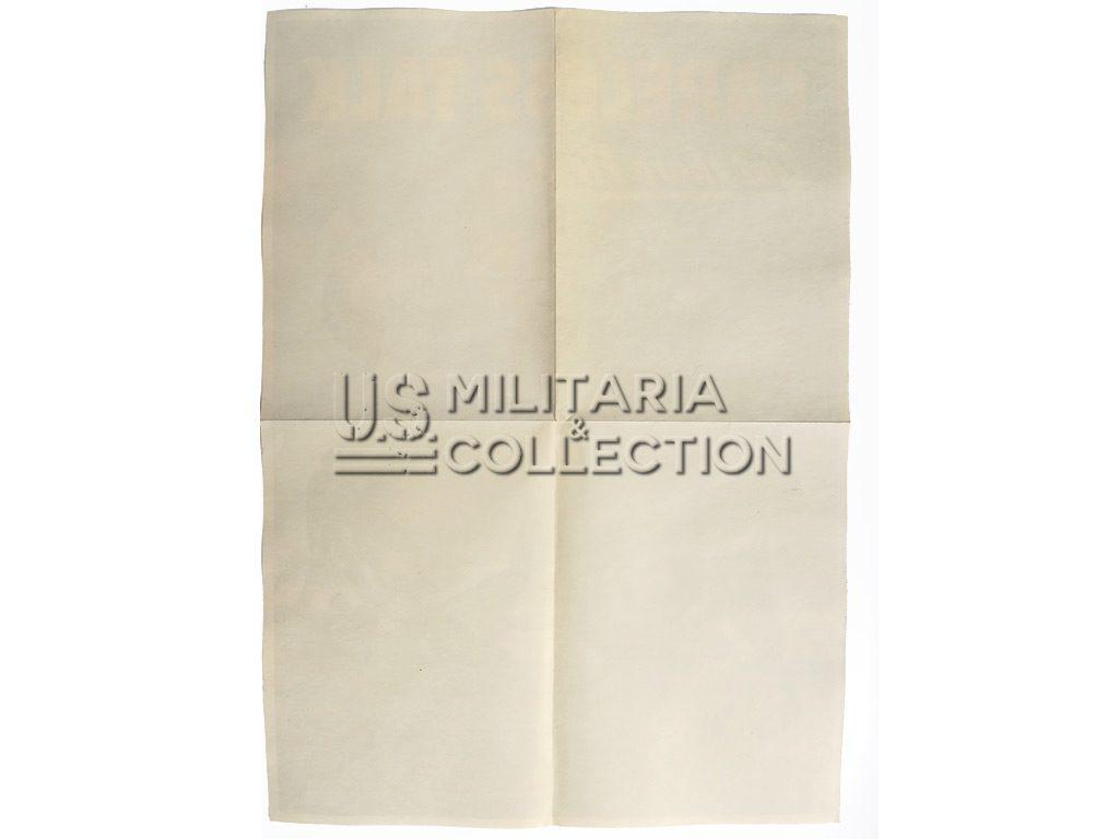 Affiche propagande US USMC 1944