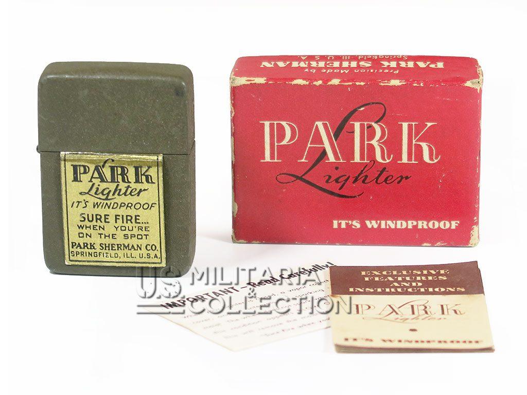 Briquet US Army Park Sherman, neuf de stock dans sa boite.